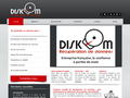 apercu du site de Diskeom recuperation de donnees